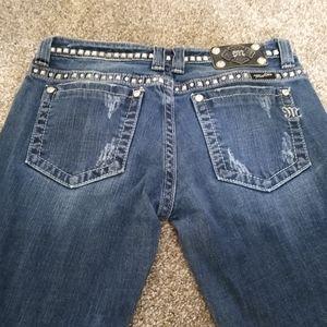 Miss Me Jeans Size 28x31 Boot Cut JP5135BCL